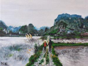 Rice Fields (Vietnam'18) by Smile Ola Art