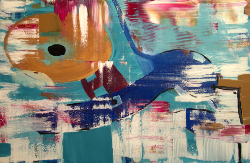 Orange.Blau_75X145_Akril.Auf.Leinwand_2020_by Sonja Kalmykova