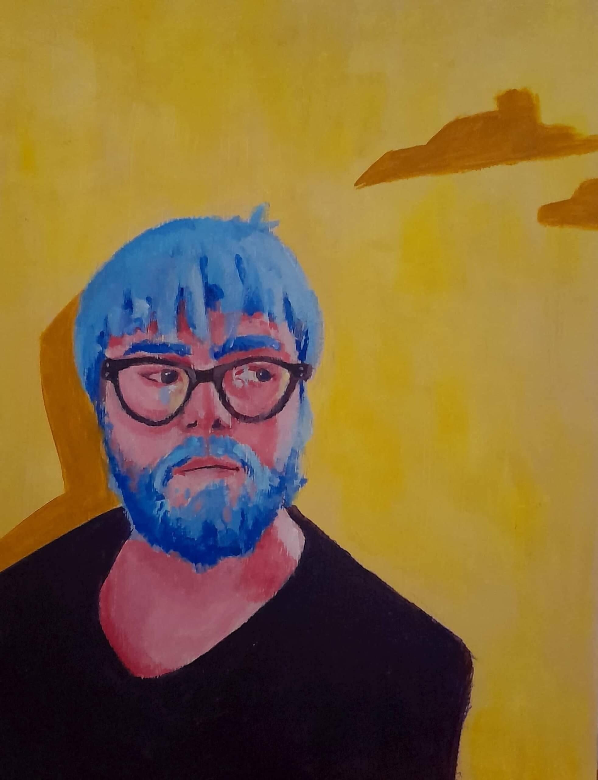 Ingmar Herrmann Porträt Leipzig Kunst