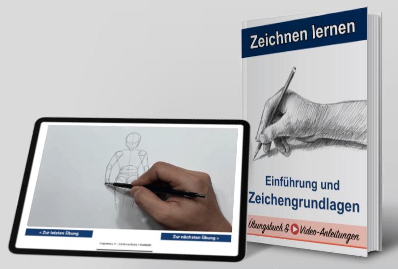 Zeichnen-Lernen-Kurs-Übersicht