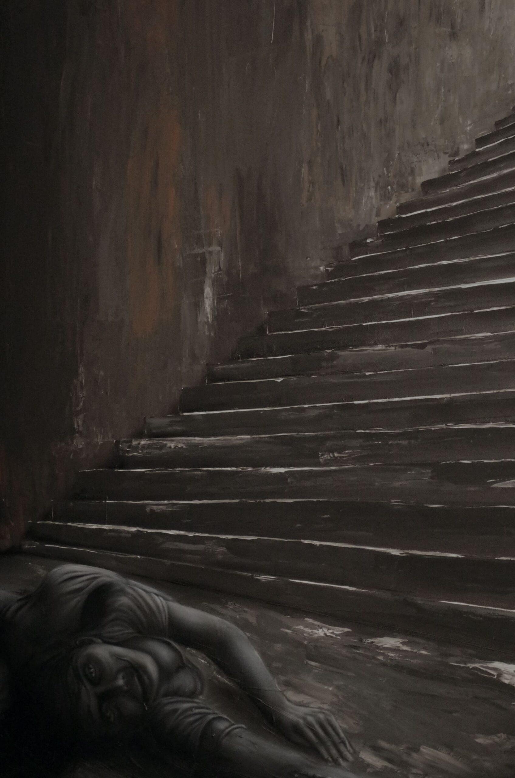 die treppeairbrushundspachtel
